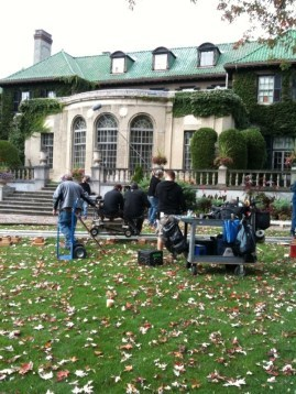 Filming at Parkwood