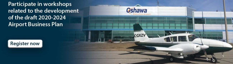 Oshawa hosting workshops related to the development of the draft 2020-2024 Airport Business Plan