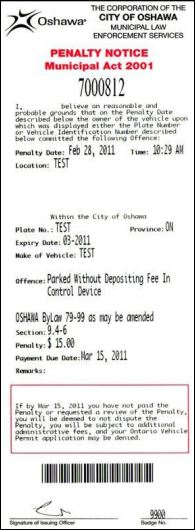 Image of Parking Administrative Penalty