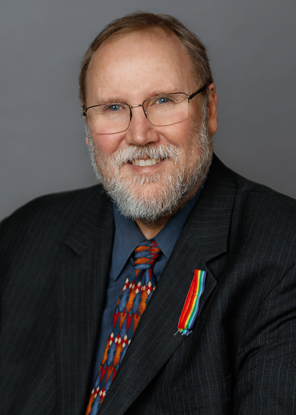 Regional and City Councillor Brian Nicholson