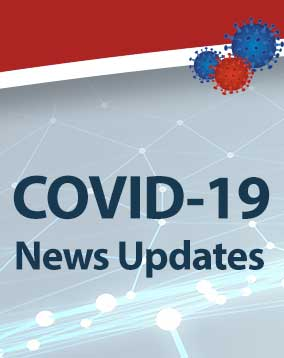 View news and updates related to COVID-19