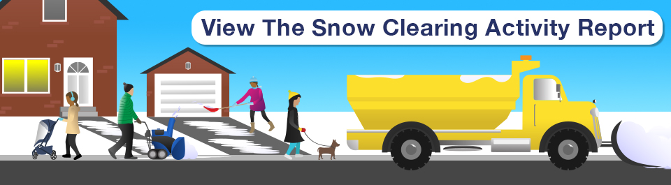 View Oshawa's snow clearing activity report now.