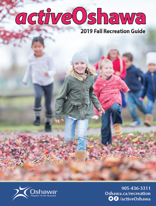 Cover image of Fall activeOshawa Recreation Guide