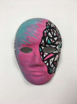 Mask created by Alison