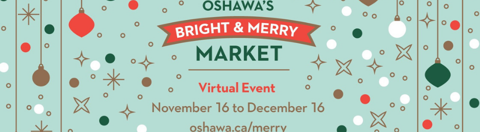 Bright and Merry Market Banner