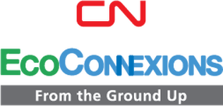 CN EcoConnexions - From the Ground Up logo