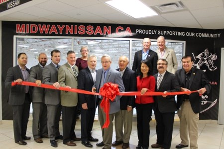 Donevan Recreation Complex Midway Nissan Ribbon Cutting