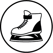 leisure skating icon