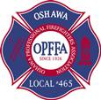 """OPFFA"" in the centre of Firemen's badge"