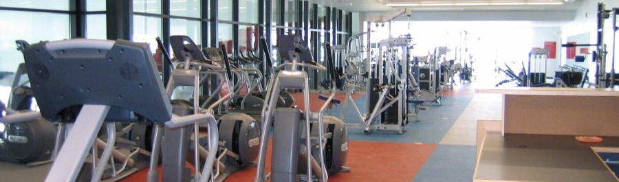 Legends Centre Fitness Centre cardio equipment