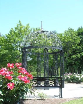 Gazebo at Oshawa Valley Botanical Gardens